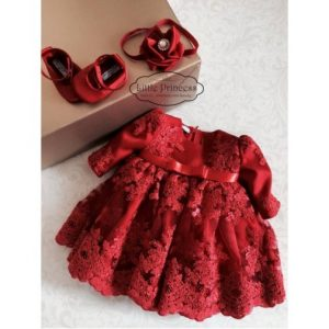 Ensemble My little red dress 200€